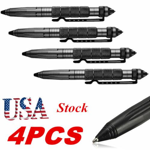"""44PCS 6/""""Aluminum Tactical Pens Glass Breaker Writing Survival Outdoor Tools USA☆"""