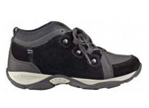 Easy Spirit schwarz Enduransa hiking boot athletic shoe suede Leder schwarz Spirit 11 Med NEW 6d6d2b