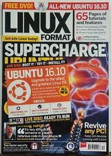 Linux Format UK Dec 2016 Supercharge Ubuntu Tutorials Features FREE SHIPPING sb