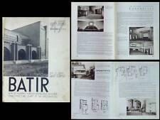 BATIR N°47 1936 CINEMA, PAUL AERNAUT, RIK JACOPS, ANDRE HAECK, DE BONDT, GRECE