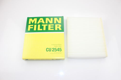 Mann /& Hummel cu2545 espacio interior filtro AUDI VW SEAT SKODA