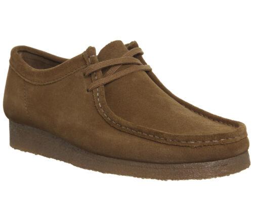 Mens Originals Clarks New Suede Cola Shoes Casual Wallabee HzBnxH