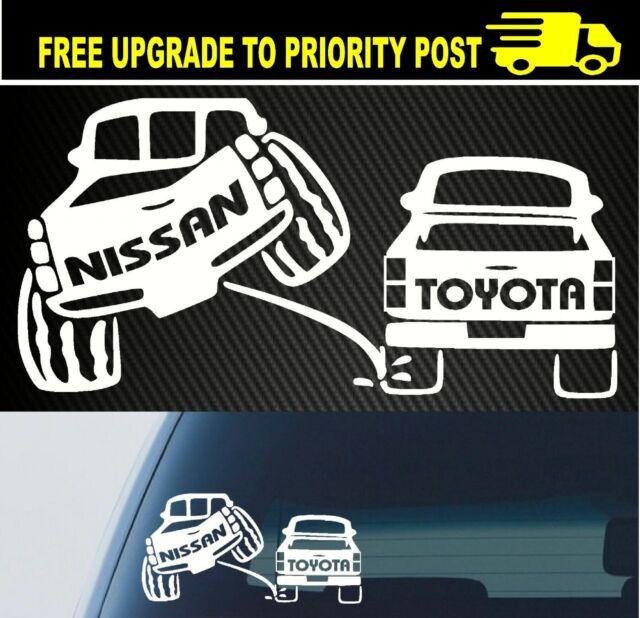 for NISSAN PATROL NAVARA 4x4 4wd funny OFF ROAD sticker 200mm