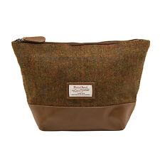 The British Bag Company - Stornoway Harris Tweed Wash Bag in Gift Box