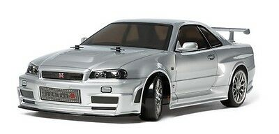 Tamiya 58605 1/10 RC Car TT02-D Drift Nissan Nismo Skyline GT-R R34 Z-Tune w/ESC