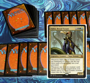 mtg-BLUE-GREEN-BLACK-SULTAI-COMMANDER-EDH-DECK-Magic-the-Gathering-rare-cards