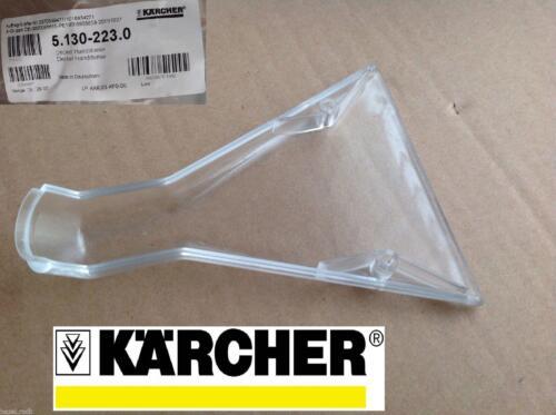 KARCHER PLASTICA TRASPARENTE Fishtail a coda Hand Tool Copertura per puzzi 8//1 100 200 300 seg 10