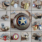 Marvel Keyring Avengers Iron man Transformers X man hunger gam DC Official metal