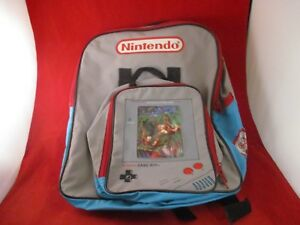 255aac50a6 Donkey Kong Land Nintendo Game Boy Promotional Kid s Backpack  RARE ...
