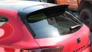 SEAT-LEON-5F-CUPRA-FACELIFT-Heck-Spoiler-Ansatz-Dachspoiler-schwarz-glanz-GLOSS