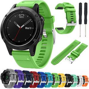 silicone watch band wristband strap bracelet for garmin fenix 5 forerunner 935 ebay. Black Bedroom Furniture Sets. Home Design Ideas