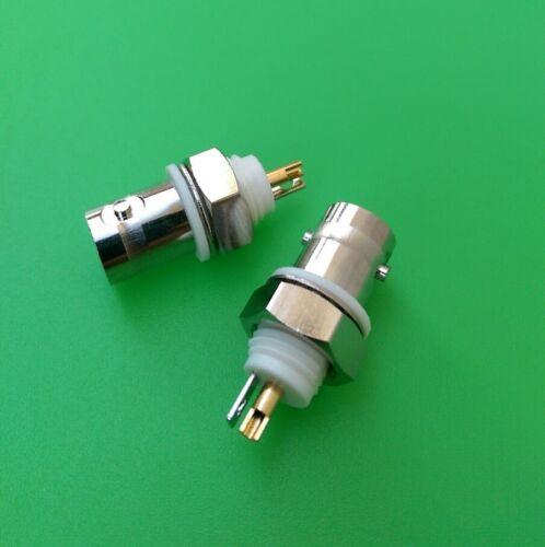 USA Seller BNC Female Isolated Ground Bulkhead Connector 1 PC