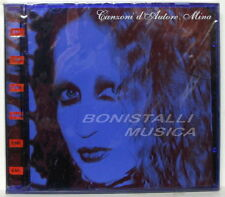 MINA - CANZONI D'AUTORE - CD SIGILLATO Copertina BLU