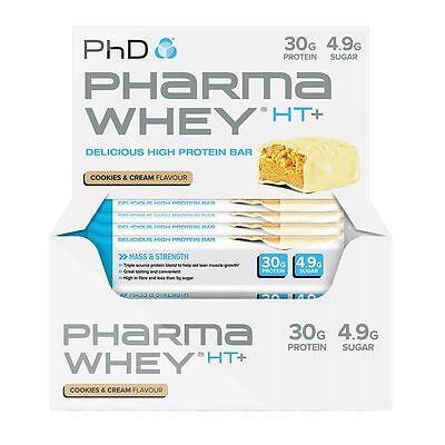 Coscienzioso Phd Pharma Whey Ht + Bar-biscotti E Crema- Aiutare A Digerire Cibi Grassi