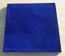 """40~Talavera Mexican tile pottery hand painted 6""""hand made washed cobalt BLUE"""