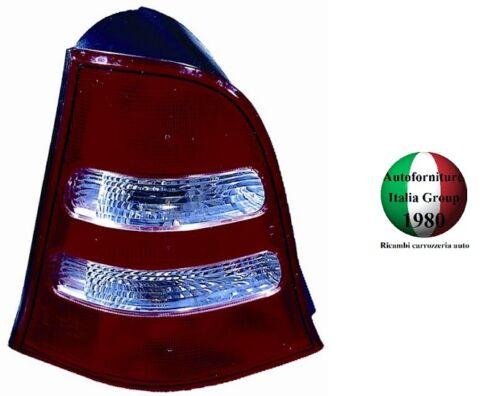 FANALE FANALINO POSTERIORE SX BIANCO MERCEDES CLASSE A W168 02/>04 DA 2002 A 2004