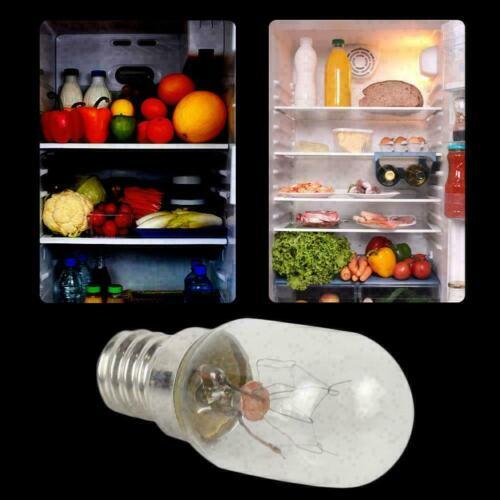 1x E14 15W Refrigerator Freezer Appliance Lamp Light EU H9D3 Light S5X5 F G1F2