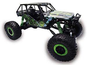 RC-Rock-Crawler-034-Crazy-Crawler-034-M-1-10-4WD-proportionales-Gas-41cm-gruen