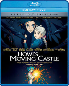 Howl-039-s-Moving-Castle-New-Blu-ray-With-DVD-Widescreen-2-Pack
