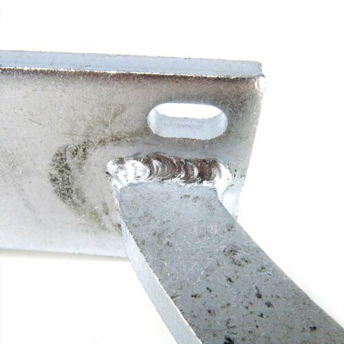 White Zinc Plated Trunk Hinge Kit AutoLoc AUTTRH truck Universal Paintable
