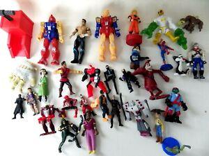 Lot-jouets-FIGURINES-vintage-divers-TMNT-Disney-Mcdonald-Disney-DBZ