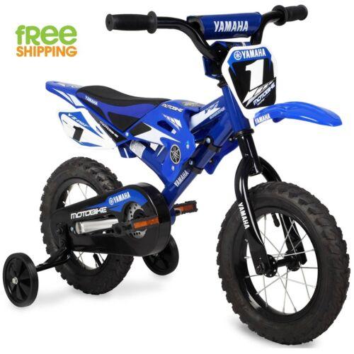 "BMX Yamaha Bike Child 12/"" Blue Children Kid Motocross Learning Beginner Bicycle"