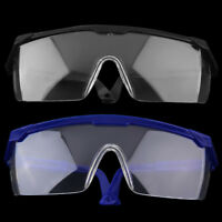 New Safety Eye Protection Glasses Goggles Lab Dust Paint Dental Industrial  EM
