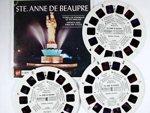 Ste 21 3D Images Quebec, Canada - Classic ViewMaster 3Reel Set Anne de Beaupre