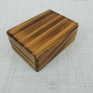 3-1-2-x-2-1-2-Handcrafted-Trinket-Wood-Box-Fantasy-Keepsake-Jewelry-Rustic