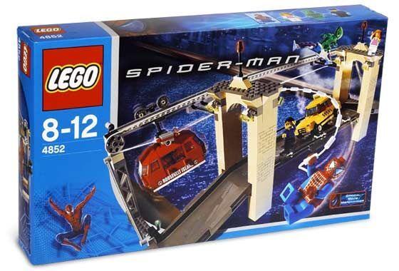 Lego Spindelmannen 4852 Den sista föreställningen