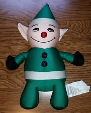 Christmas Holiday Green Tingle Elf Squeez Squeeze Therapy Microbead Nylon Toy