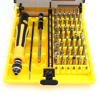 45 in 1 Magnetic Precision Screwdriver Set Torx Screw Driver Repair Tools Kit