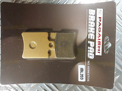 SEMI METAL FRONT BRAKE PADS FOR HONDA SH 50 T Fifty//Scoopy W//X//Y//1 97-03