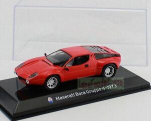 1/43 Scale Altaya Maserati Bora Gruppo 4 1973 Diecast Model