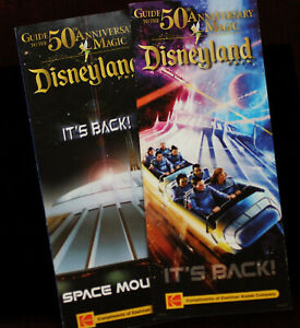 Disneyland-Space-Mountain-Main-Gate-Guide-Map-2-Walt-Disney-Brochure-Fold-out