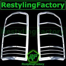 07-12 DODGE NITRO SUV Triple Chrome Taillight Tail Light Trim Bezel lamp Cover