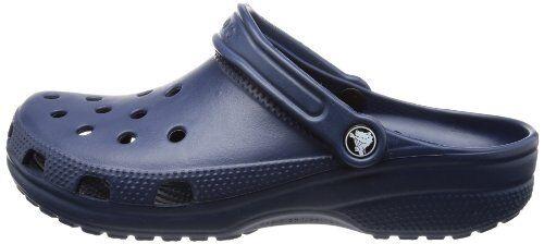 Clásica para hombre Azul Marino Zuecos Sandalias De Playa Zapatos Impermeable Crocs UK 6-12