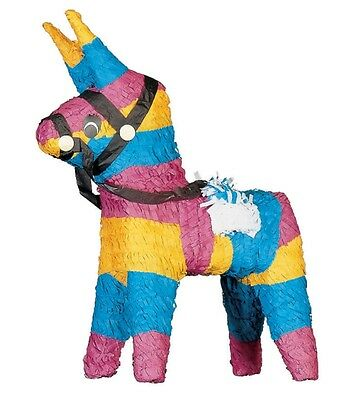 Donkey (Burro) Pinata - Mexican Fiesta Themed Party Supplies & Games