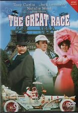 THE GREAT RACE (Tony Curtis) english cover  - DVD - UK Compatible -  sealed