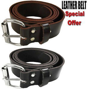 MENS-REAL-GENUINE-LEATHER-HIGH-QUALITY-STYLISH-JEANS-TROUSER-CASUAL-WAIST-BELT