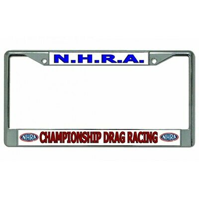 Dodge Mopar license plate frame Charger Challenger Srt8 nhra prostreet