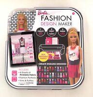 Barbie Fashion Design Maker, Doll, Clothes, Accessories, Patterns Mattel 2014