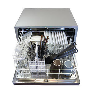 Table Top Dishwasher For Sale : Small-Mini-Dishwasher-Countertop-Portable-Compact-Tabletop-Apartment ...