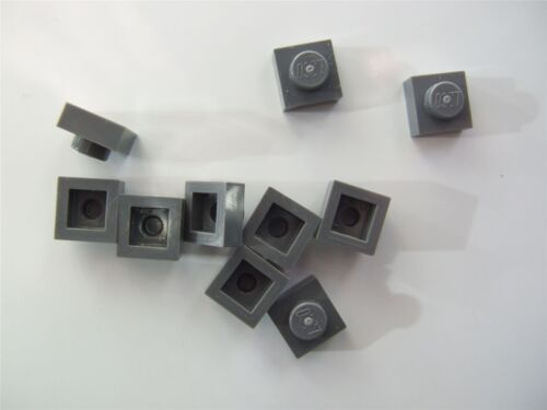 10 x Lego Grey plate - 4210719 size 1x1 Parts /& Pieces