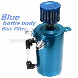 0-5-L-500ML-Recuperateur-d-039-huile-Reservoir-Reniflard-Filtre-Aluminium-Bleu-Auto