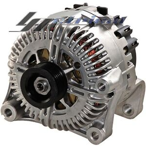 100-NEW-ALTERNATOR-FOR-BMW-550-650-750-E60-E63-E64-E65-E66-180A-ONE-YR-WARRANTY