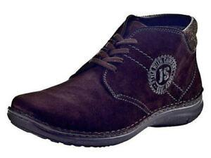 Josef-Seibel-Stiefel-Boots-Leder-Stiefeletten-braun-18-PL949316-Gr-39-47-Neu5