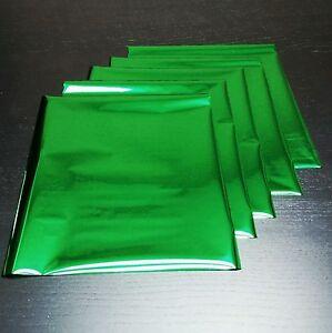 Green Heat Toner Laser Transfer Reative Foil Minc - 5 Sheets - 8 x 10 inches