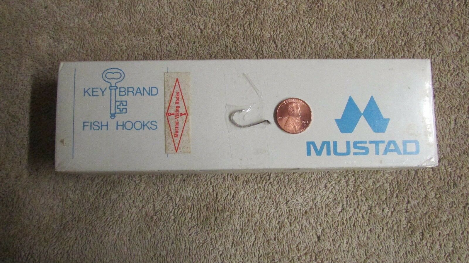 O. Mustad & Son Mustad-Viking Fishing Hooks - - - 1,000 Hooks - Größe 4 - New  (G 70) c18351