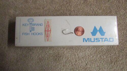 O Mustad /& Son Mustad-Viking Fishing Hooks Size 4 1,000 Hooks G 70 New